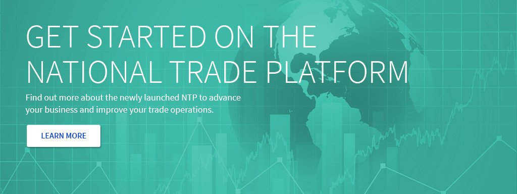 Start on the National Trade Platform